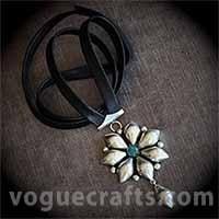 Floral Design Pendants