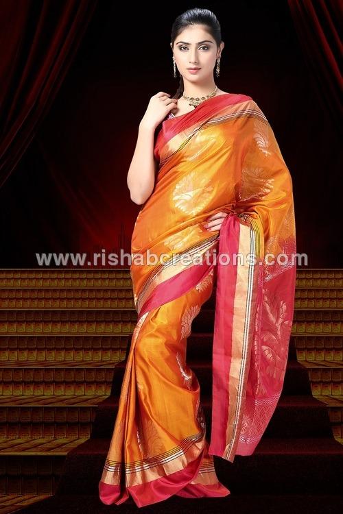 Fancy Silk Sarees D-922