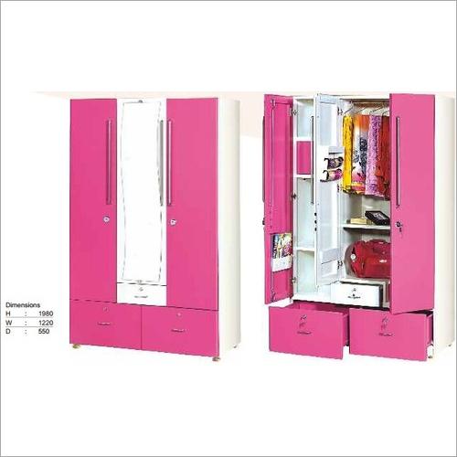 3 Door Steel Almirah