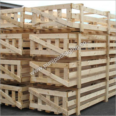 Wooden Open Crate