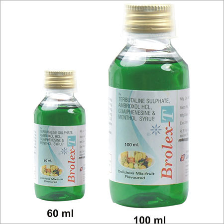 Ambroxole and Terbutaline and Guaiphenesine Syrup