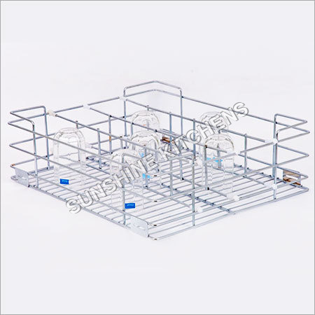 Glass Rack Basket