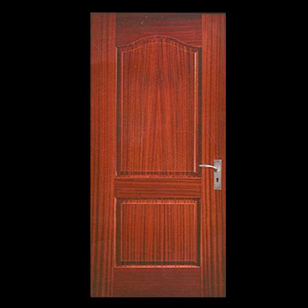 Teak Wood Veneer Door