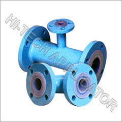 Ptfe Lined Unequal Cross