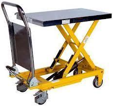 Hydraulic Lifting Trolley Table