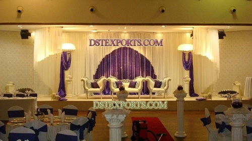 Beautiful Asian Wedding Stage Set