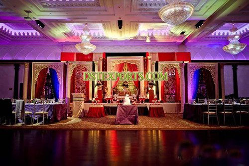 MAHARAJA WEDDING STAGE SET