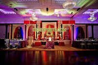 MAHARAJA WEDDING STAGE SET
