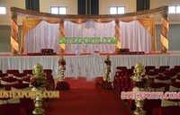 NEW WEDDING GOLDEN CRYSTAL STAGE SET