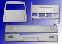 FRP Bus Parts
