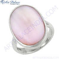 Lovely Big Inley Gemstone Sterling Silver Ring