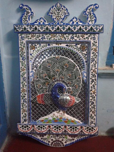 Glass Peacock Designs