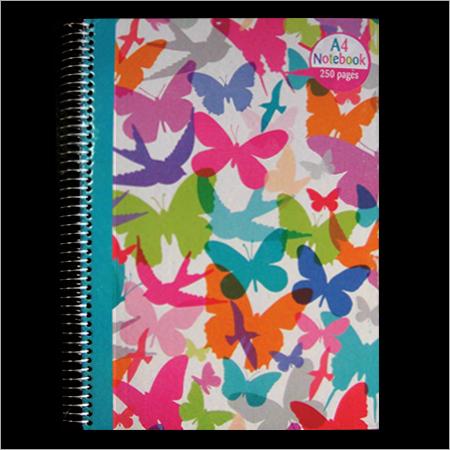 Spiral Case Bound Notebook