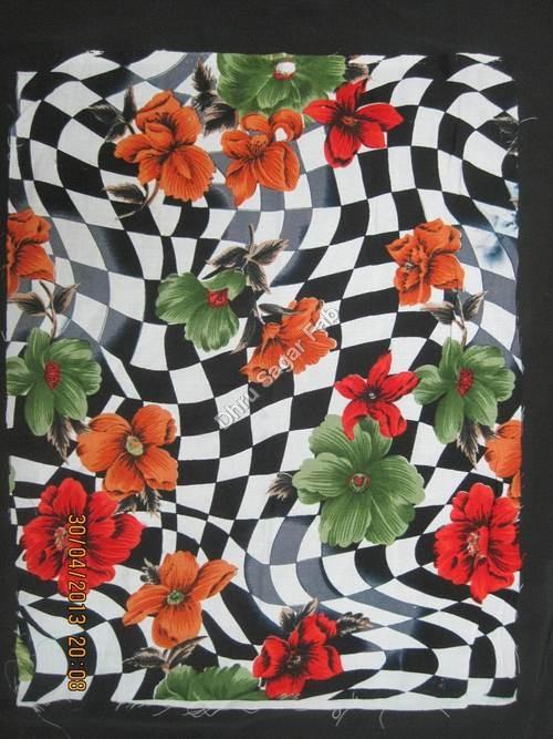 Polyester Heavy Bright Crape Print
