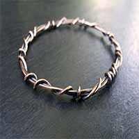 Designer Silver Bangles
