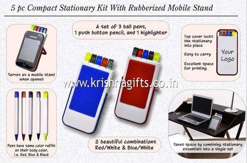 Stationery Kit with Mobile Holder