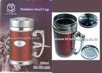 SS Mug with Strainer