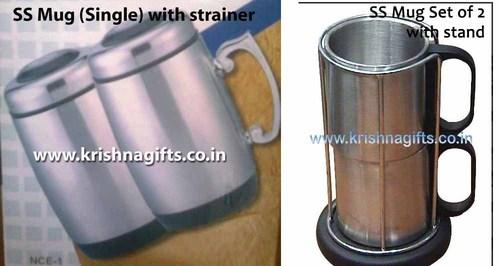 SS Mug with Stand