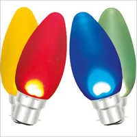 Led Night Bulbs Candle Glass