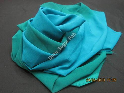 Flat Georgette Shaded fabrics