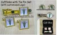 Cuff links with Tie Pin