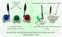 Pen Holder Card Holder