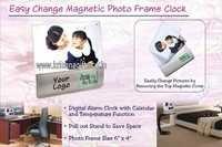 Magnetic Frame Clock LCD