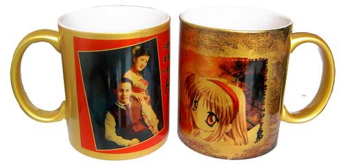 Golden Mug Sublimation Mug