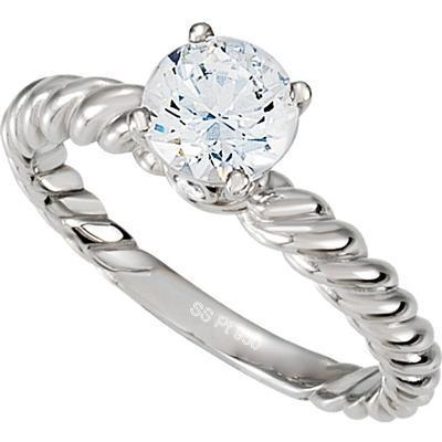 Platinum Solitaire Diamond Ring