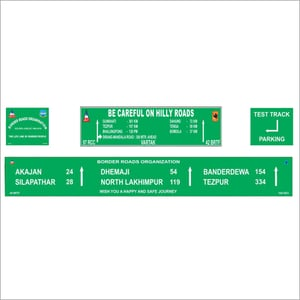 Informatory Signs Boards