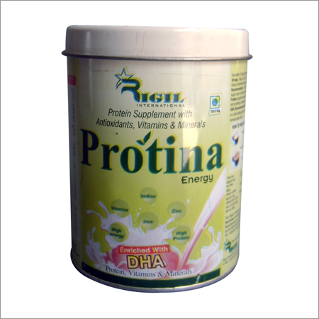 High Protien Supplement vitamin Minerals and DHA