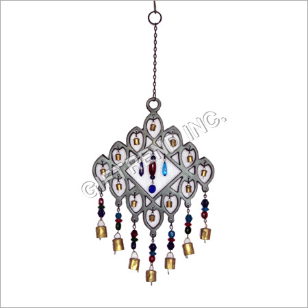 Aluminium Chime with Glass Beads
