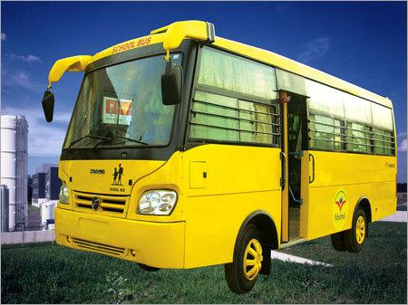 Long School Bus Body