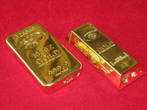 Gold Plated Lighters