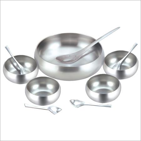 Stainless Steel Dessert Set