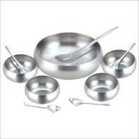 Stainless Steel Dessert Set