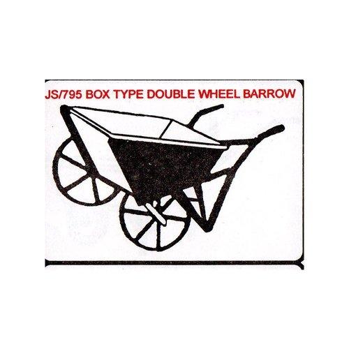 Box Type Double Wheel Barrow