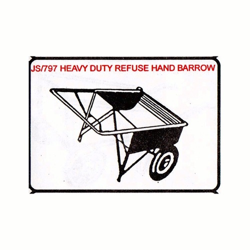 Heavy Duty Refuse hand Barrow