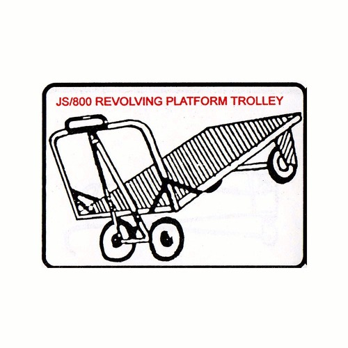 Revolving Platform Trolley