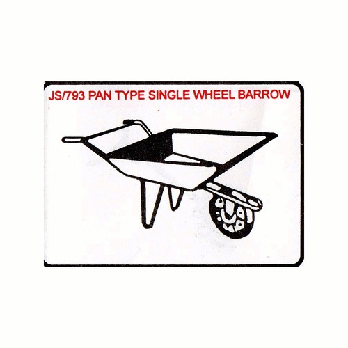 Pan Type Single Wheel Barrow