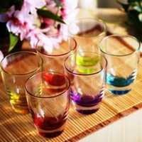 Coloured Crystal Glassware