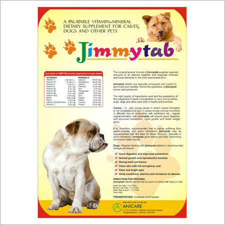 Dog Vitamin Supplements