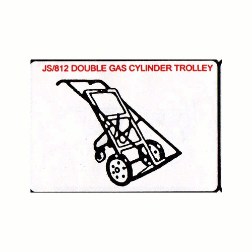 JS/812 Double Gas Cylinder Trolley