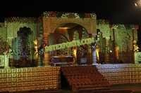 RAJASTHANI WEDDING STAGE SET
