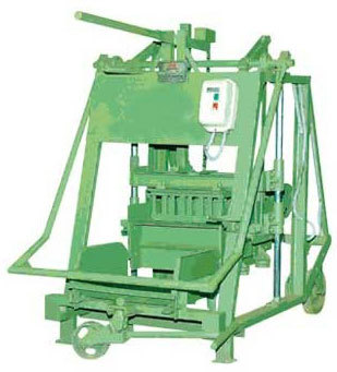 mini hollow block machine