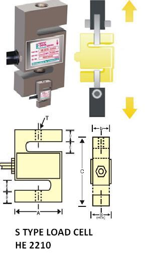 Pull or Press S Type Load Cells