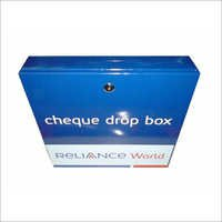 Cheque Drop Box Advertising
