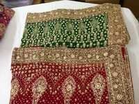 Dabka sarees