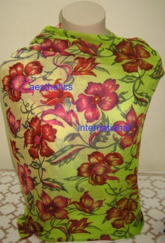 Floral Printed Shawls