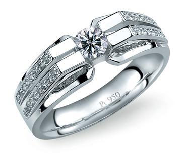 Platinum Designer Ring
